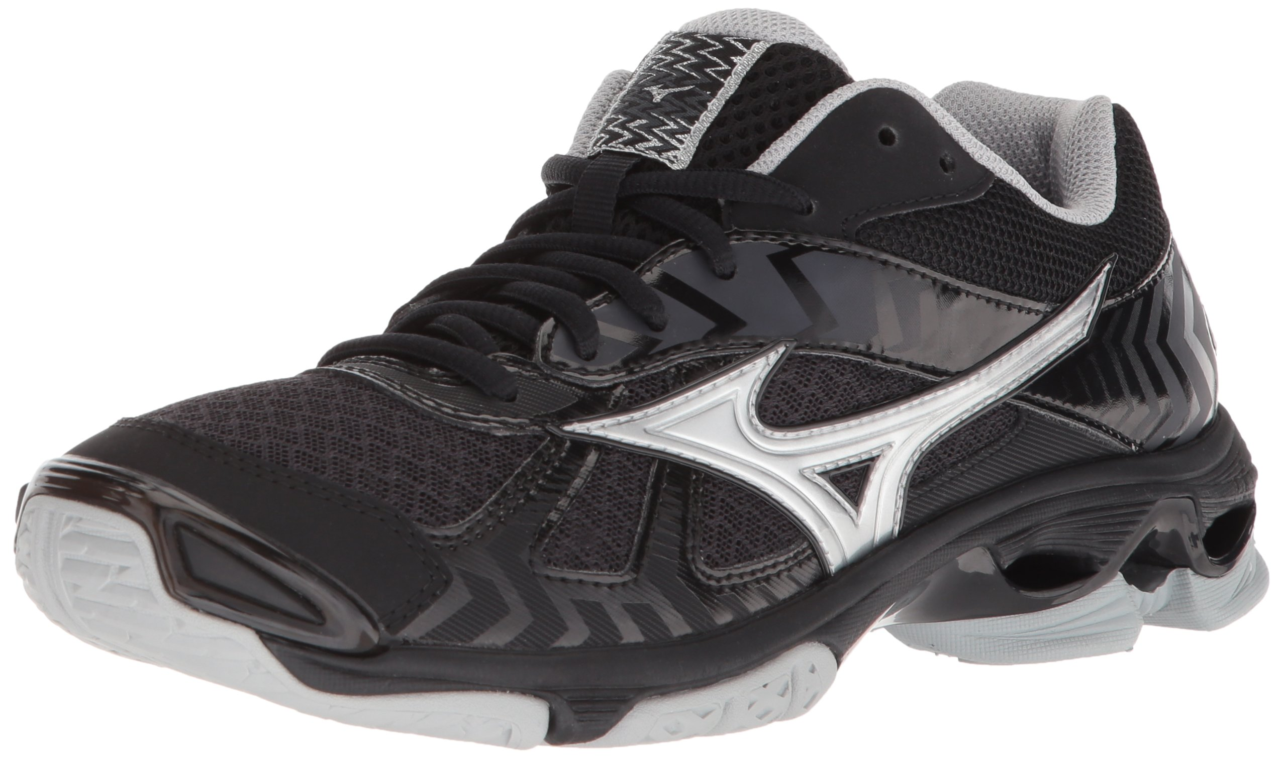 mizuno womens volleyball shoes size 8 x 3 foot white on 3ds