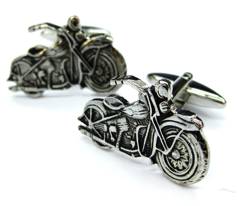 Tailor B Pistolet en Mé tal Moto boutons de manchette Harley Automotive gemelos FBA 021021– 1 011152-1