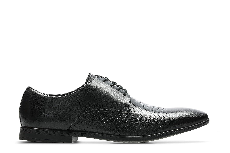 TALLA 42 EU. Clarks Bampton Cap, Zapatos de Cordones Derby para Hombre