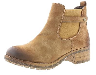 Rieker Damenschuhe 96864 Damen Stiefel, Schlupfstiefel, Boots braun (REH    24), 03a692efd7