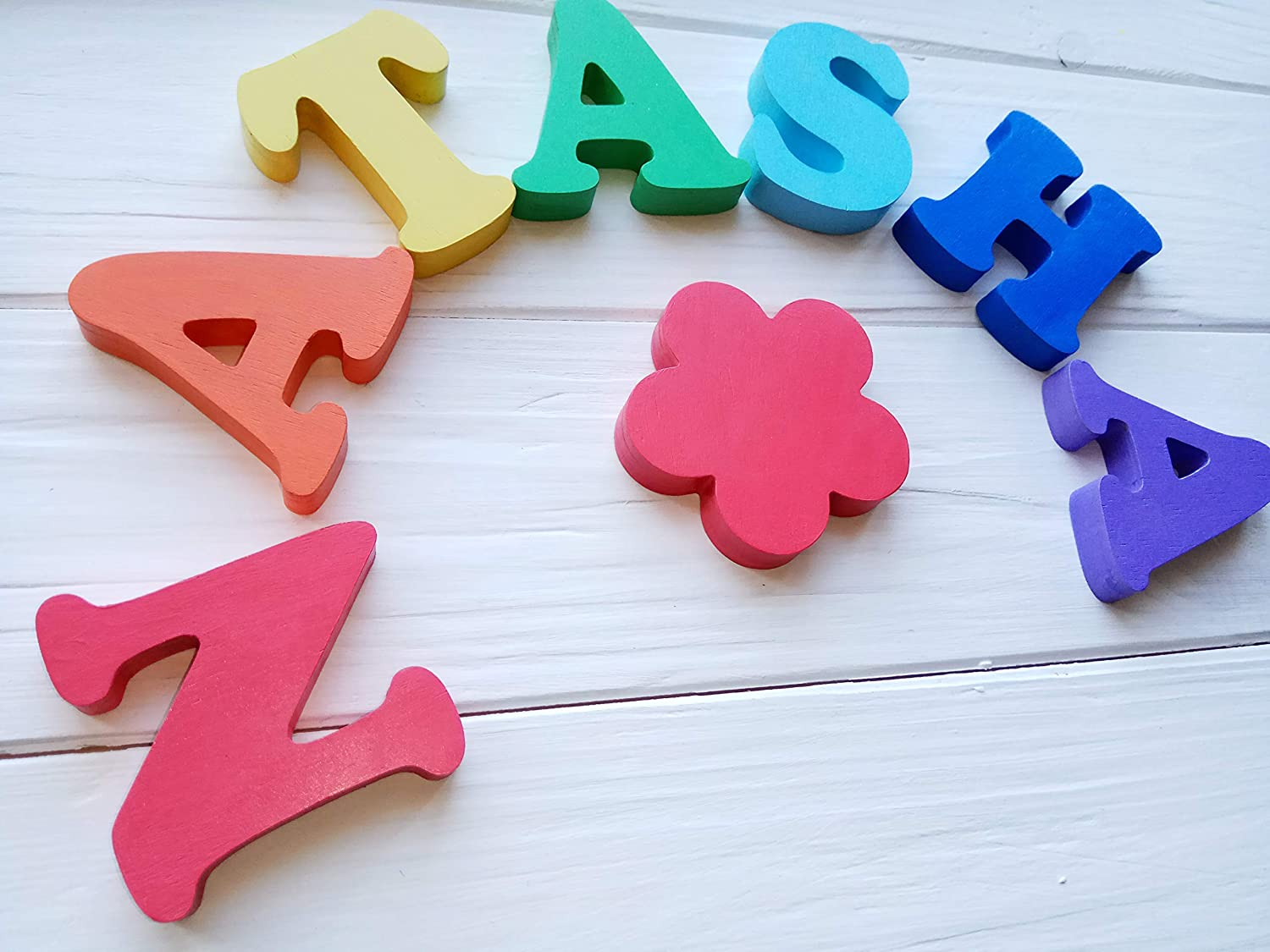 Name Wooden Puzzle Educational Toys Personalized Gift for Baby Jigsaw Puzzles for Child