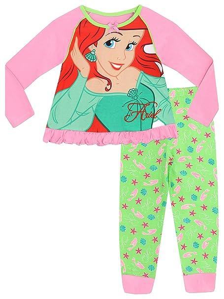 Disney La Sirenita - Pijama para niñas - La Sirenita Ariel - 2 a 3 Años