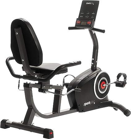 SportPlus SP-RB-9500-iE Bicicleta Estática, Asiento Reclinable ...