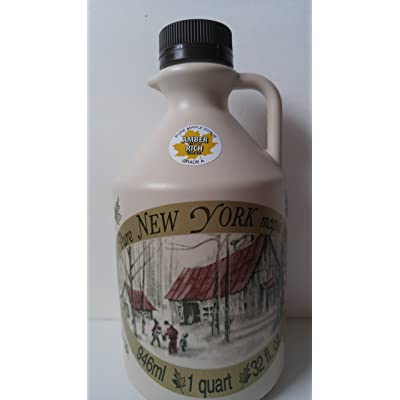 100% Pure Maple Syrup (Amber Rich) : Grocery & Gourmet Food