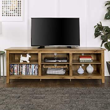 Universal Ltd Tv Stand For 75 Inch Tv Entertainment Center 75 Inch Tv With Storage And Wood Look Very Sturdy Tv Stand Barnwood Furniture Decor