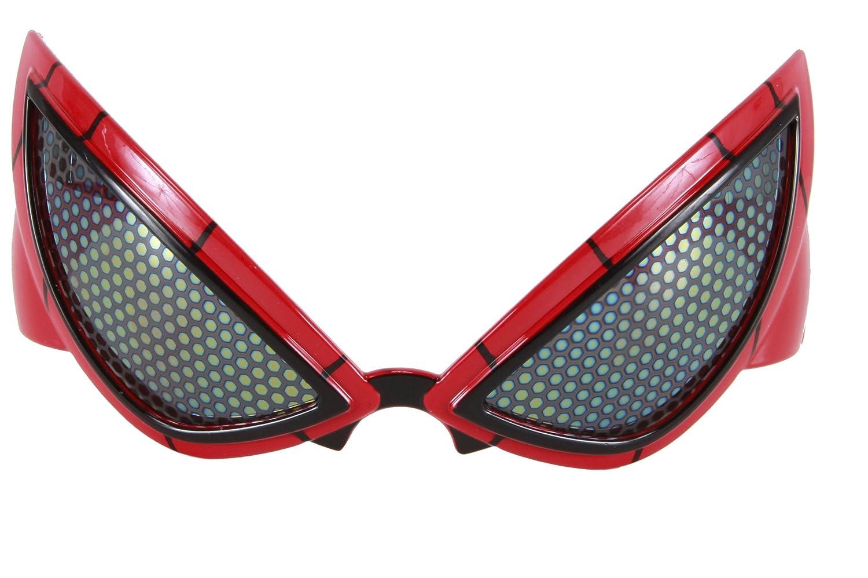 Marvel elope Spider-Man Movie Glasses Red One Size 337130