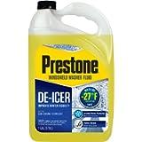 Prestone AS250 De-Icer / Winter Windshield Washer Fluid, 1 Gallon