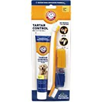 Arm & Hammer FFP6989PS Advanced Care 3-Piece Dental Kit with Toothbrush, Cover, and Toothpaste in Banana Mint Flavor, Single Pack