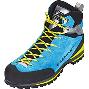GARMONT RAMBLER GTX Zapatos de trekking antracita azul goretex botas ... fea2f926802