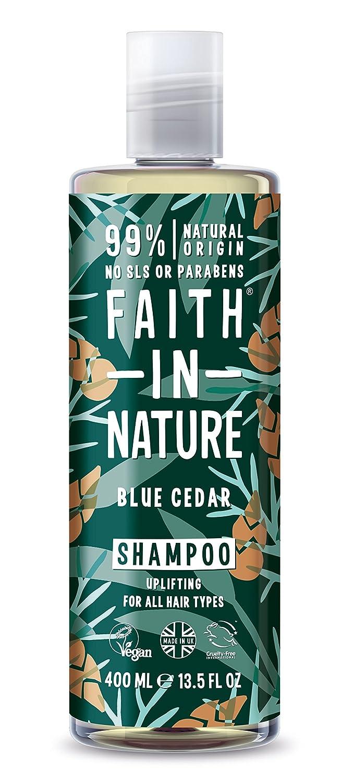 Faith In Nature Blue Cedar Shampoo 1 x 400ml