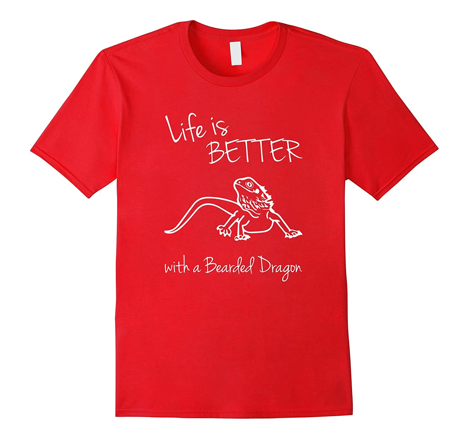 Life Is Better With A Bearded Dragon Pets Gift Shirt-CL