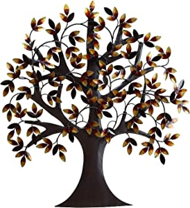 "Deco 79 13862 Metal Tree Wall Decor 32""H, 31""W"