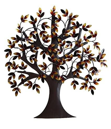 Amazon.com: Deco 79 13862 Metal Tree Wall Decor 32\