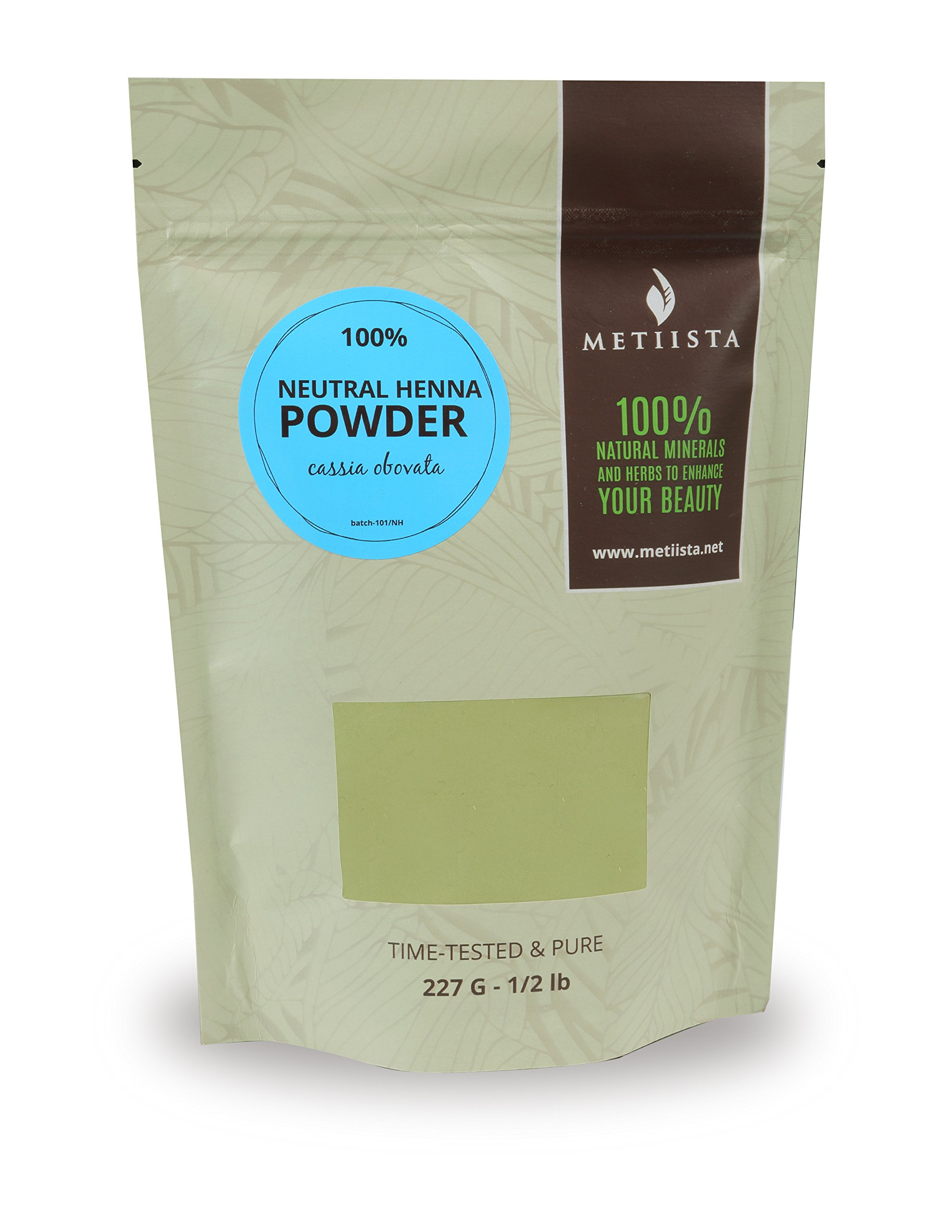 Neutral Henna Powder (Cassia Obovata) (1/2lb)