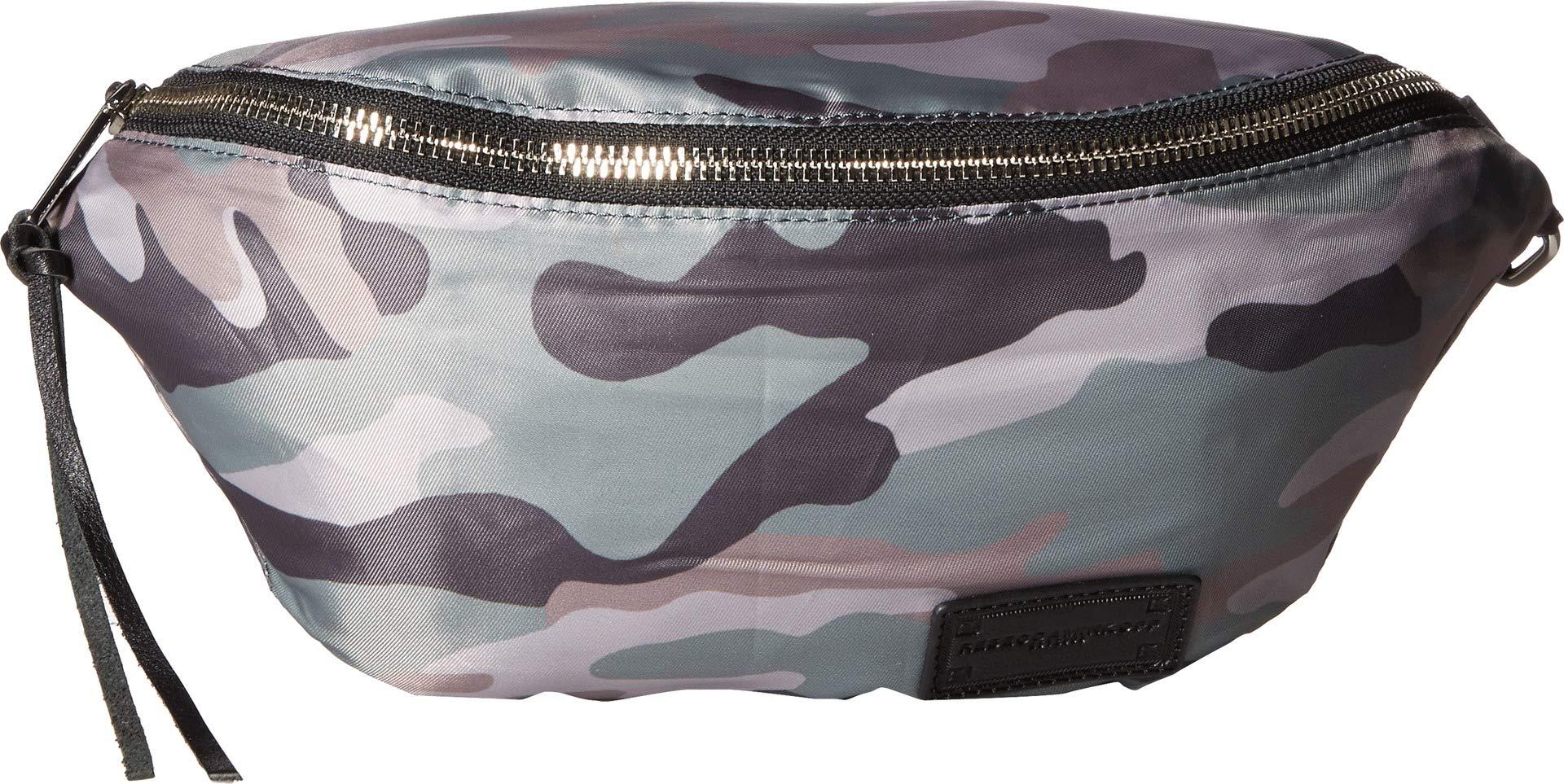 Rebecca Minkoff Women's Nylon Belt Bag, Camo Print, One Size