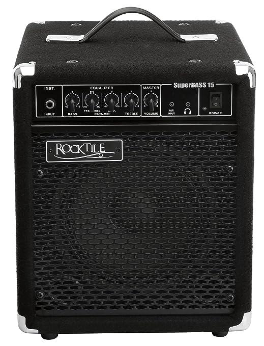 Rocktile SB-15 SuperBass 15 - Amplificador de bajos, 15W: Amazon.es: Instrumentos musicales