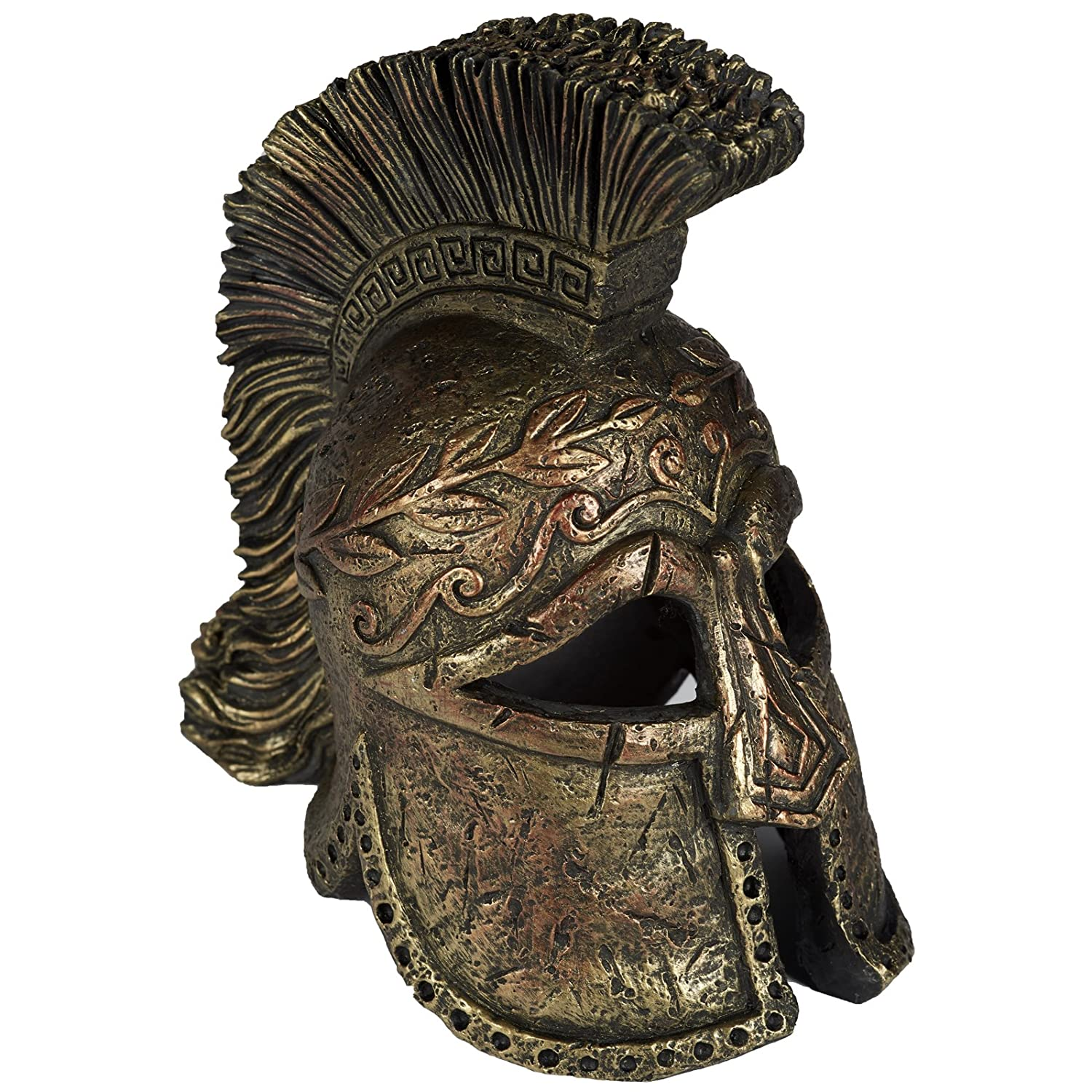 Pet Ting Roman Headdress Aquatic Ornament - Aquarium Decoration - Vivarium Decoration PT382