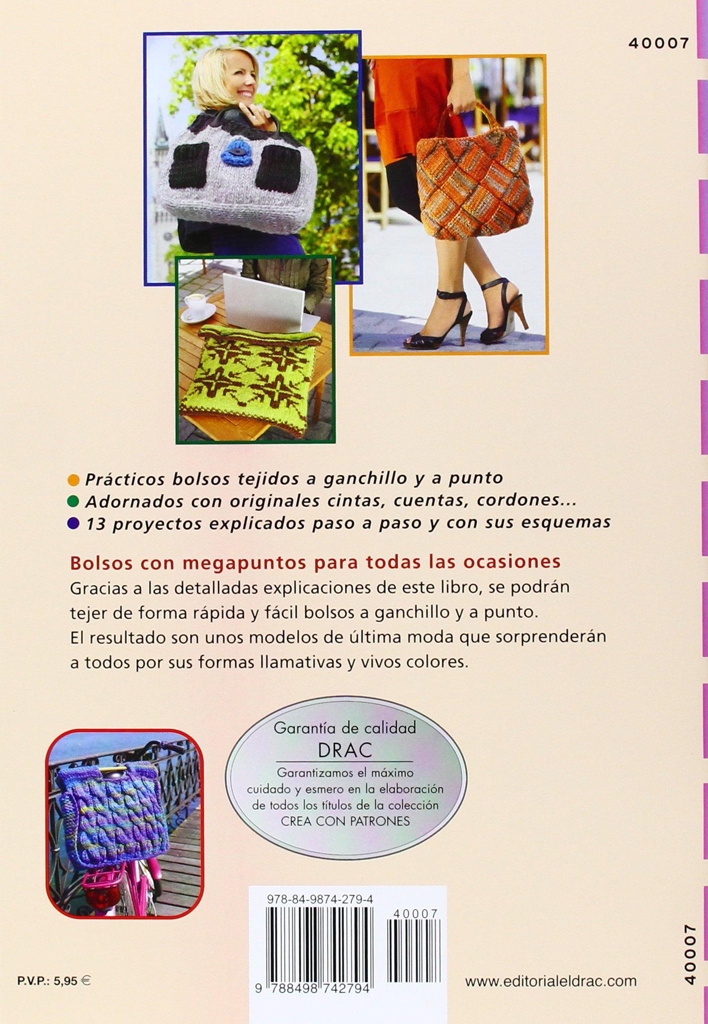 Bolsos extragrandes de ganchillo y punto: Veronika Hug: 9788498742794: Amazon.com: Books