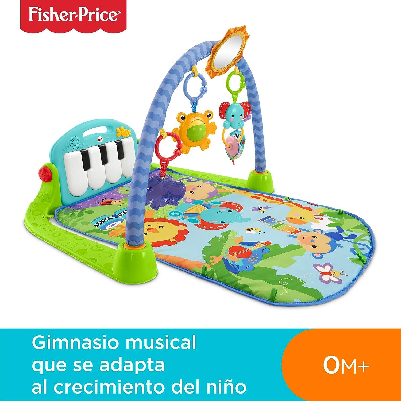 Fisher-Price - Gimnasio-Piano Pataditas, Manta de Juego para Bebé ...