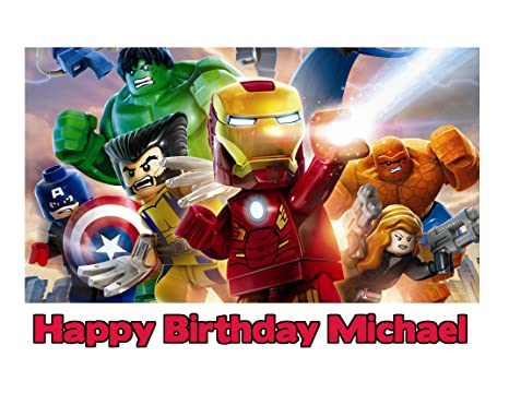 Amazon.com: LEGO The Avengers Hulk Thor Capitán América ...