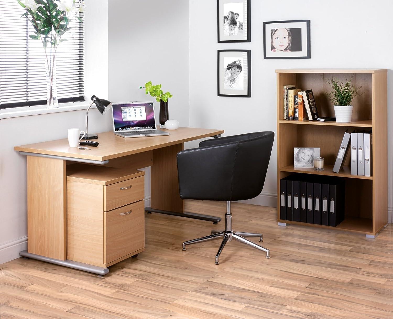 DAMS Home Office Tall Bookcase-Beech 38.8x70x169.2 cm