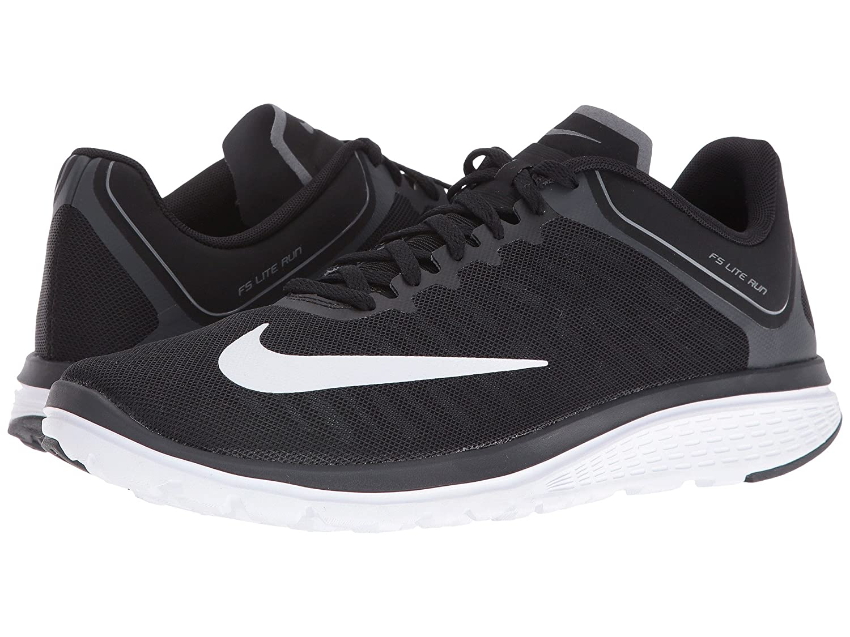 [ナイキ] Nike メンズ FS Lite Run 4 スニーカー [並行輸入品] B01M58ZYKF 25.0 cm D Black/White/Anthracite/Charcoal Grey