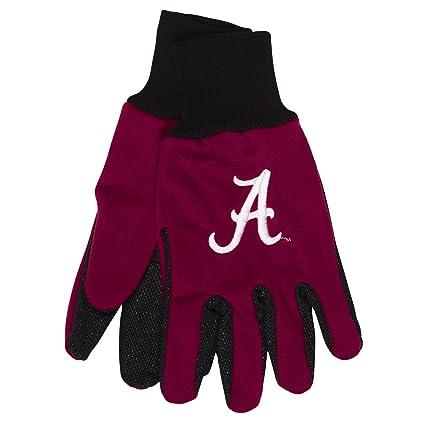 huge selection of 9bf51 c29d2 NCAA Alabama Crimson Tide Two-Tone Gloves, Green Black