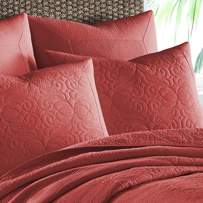 Tommy Bahama Nassau Shams, Standard, Medium Red