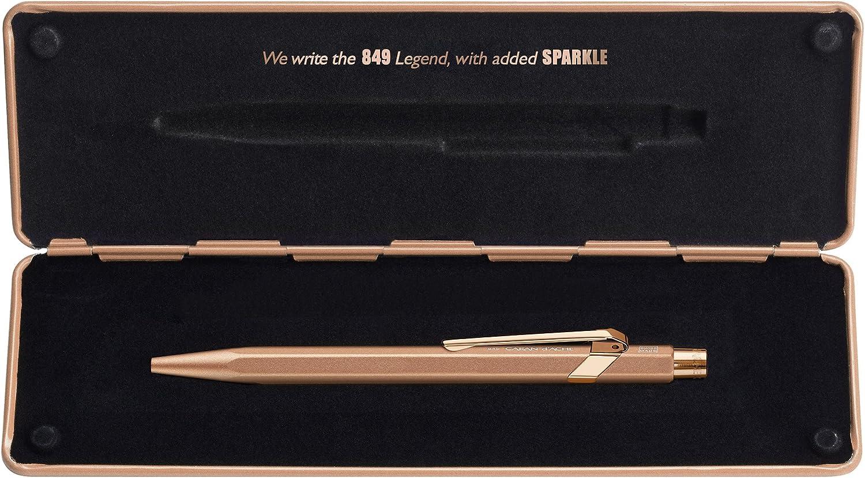 Caran dAche 849 Gift Line Goldbar Stylo-bille r/étractable Or