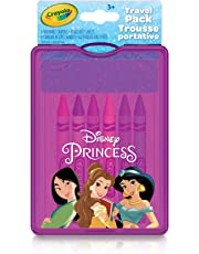 Crayola Travel Pack, Disney Princess, Summer Travel, Cottage, Camping, on-the-go,  Gifting