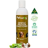 PETWAY Petcare Gentle Protein Conditioner with Aloe Vera – Dog Conditioner for Healthy Shiny Coat - Dog Hair Detangling…