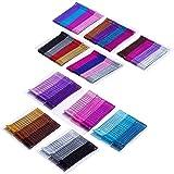 Justbuy 240pcs Multi Colored Bobby Pins Purple Blue Hair Pins 2 Inches Metal Barrettes Cute Hairpins Decorative Hair…