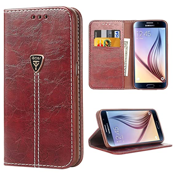 amazon com galaxy s6 flip case idoer fashion embossed butterflyimage unavailable image not available for color galaxy s6 flip case idoer fashion embossed butterfly flip case slim magnetic flip leather