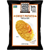 Food Should Taste Good, Tortilla Chips, Sweet Potato, Gluten Free Chips, 11 oz