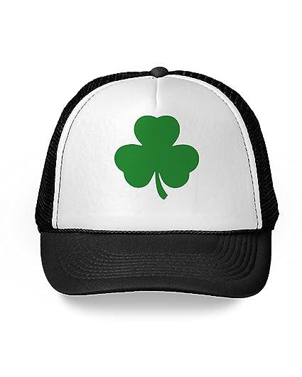 1e7efc7fc71 Awkward Styles Shamrock Trucker Hat Irish Luck St. Patrick s Day Gifts for  Irish Black One