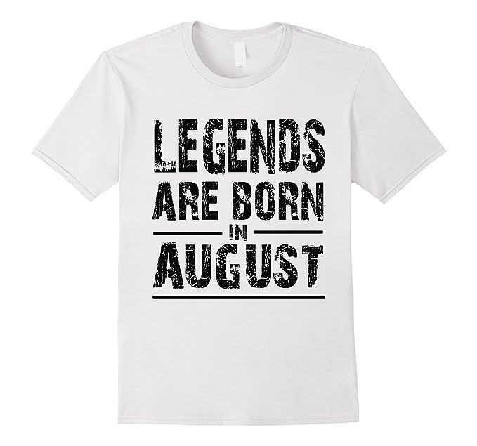 78040ef4 Amazon.com: Legends Born In August T-Shirt, White Light Shirt: Clothing