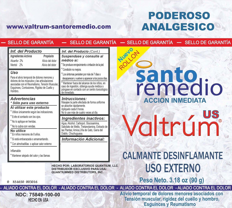 Valtrum Santo Remedio by Drogefar, C.A. Caracas Venezuela: Amazon.es: Salud y cuidado personal