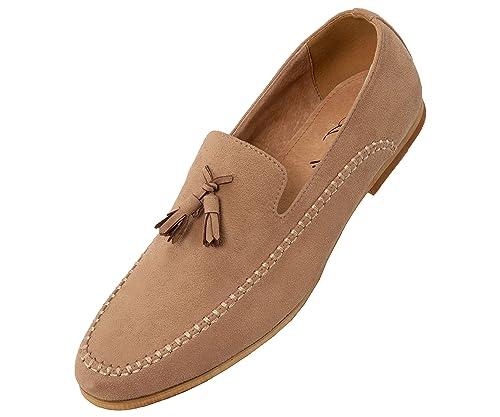 Amazon.com: Amali - Zapato de vestir para hombre de gamuza ...
