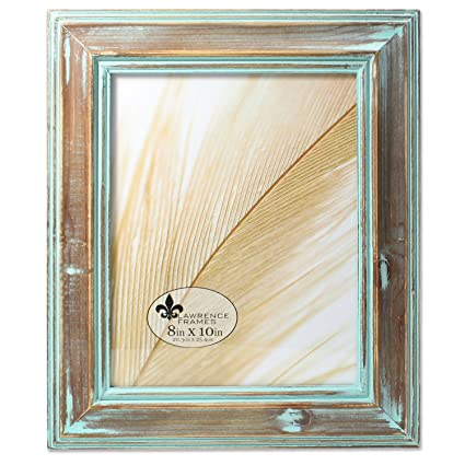 Amazon.com - Lawrence Frames 733180 8x10 Weathered Wood with ...