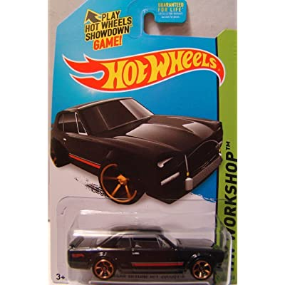 Hot Wheels 2014 HW Workshop Black Nissan Skyline H/T 2000GT-X: Toys & Games