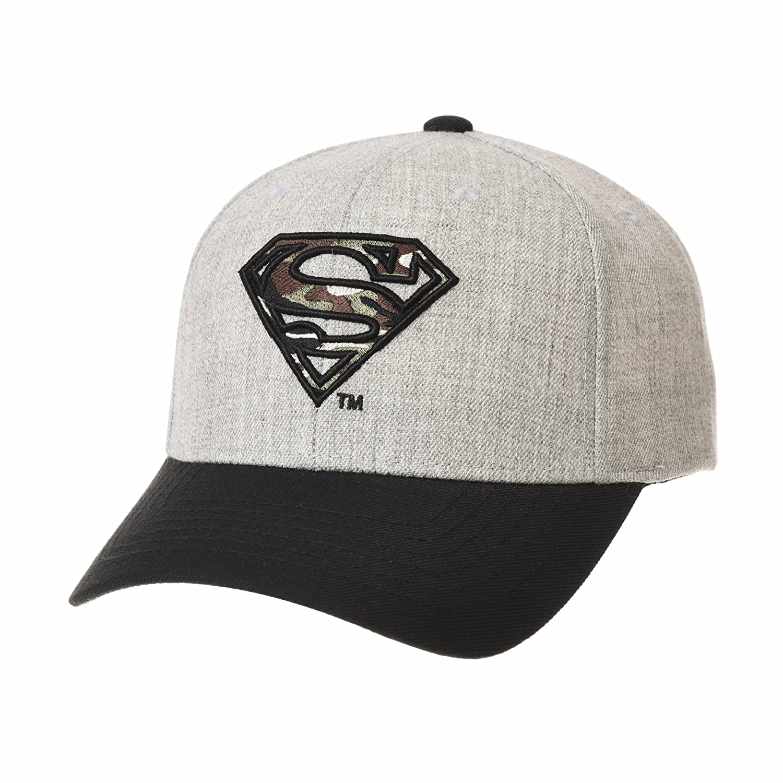 WITHMOONS Cappellini da Baseball Cappello Superman Shield Embroidery Cotton Baseball cap AC3260