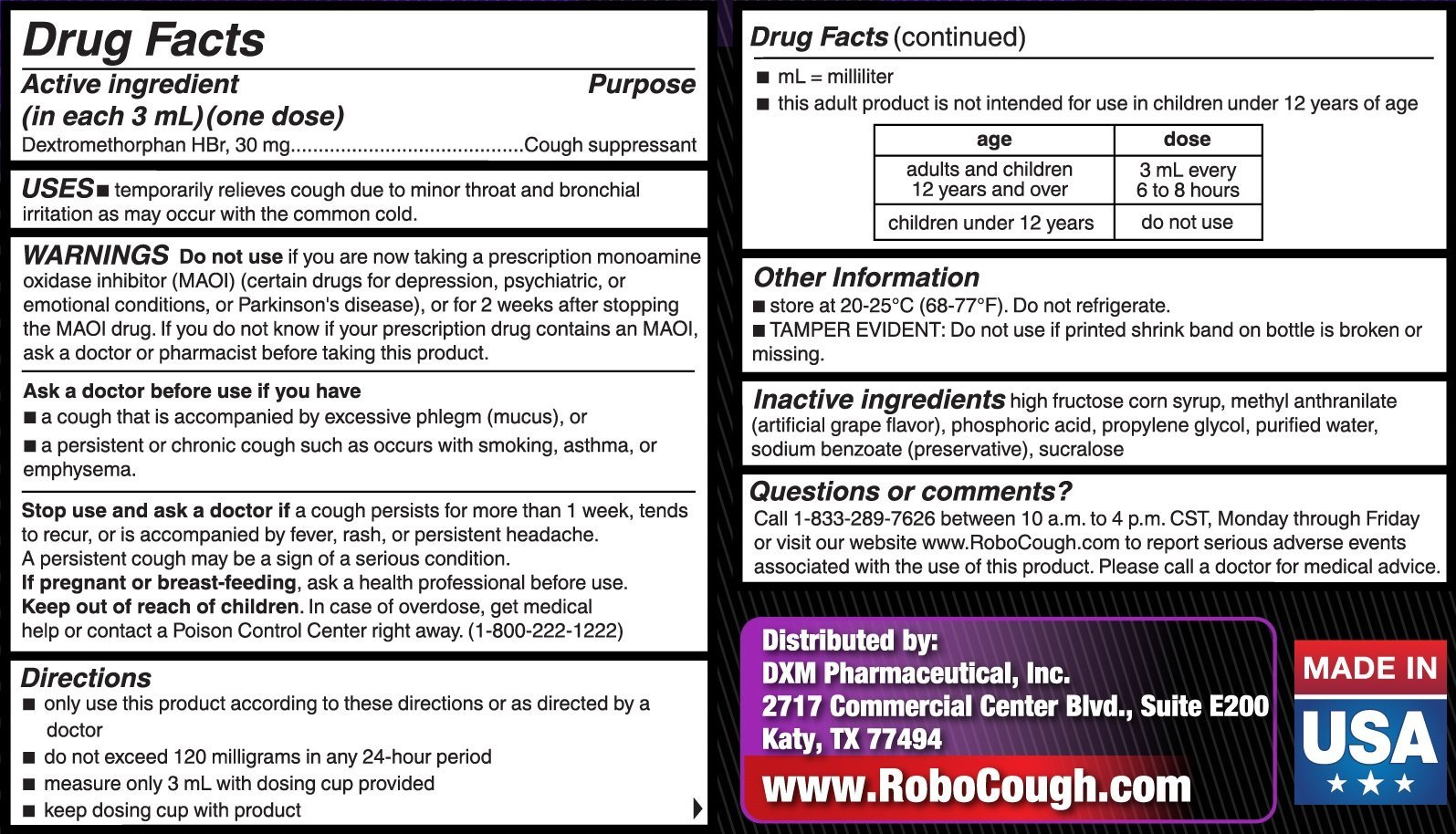 RoboCough - 12 pack by Cough Suppressant