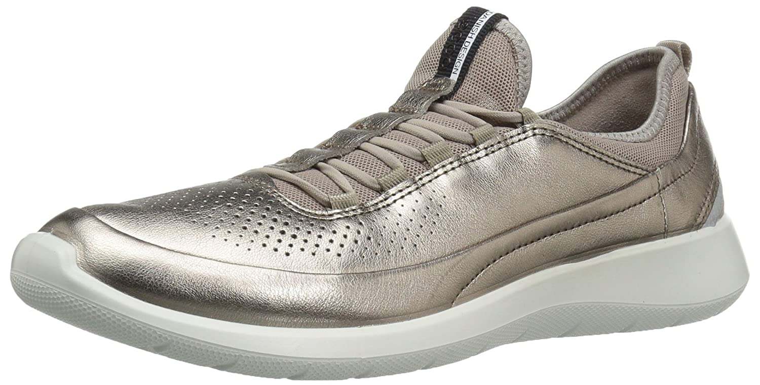 Ecco Soft 5, Zapatillas para Mujer 36 EU|Dorado (57462warm Grey Metallic/Moon Rock)