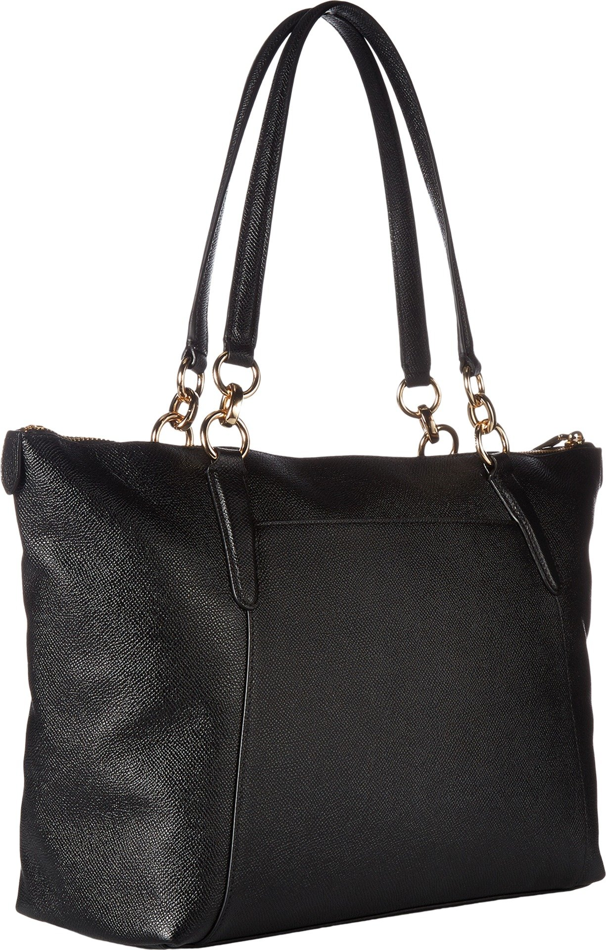 COACH Women's Crossgrain Ava Tote Im/Black One Size by Coach (Image #2)