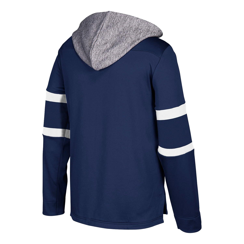 ca2eab116 Amazon.com   adidas Toronto Maple Leafs NHL Men s Platinum Jersey Hooded  Sweatshirt   Sports   Outdoors