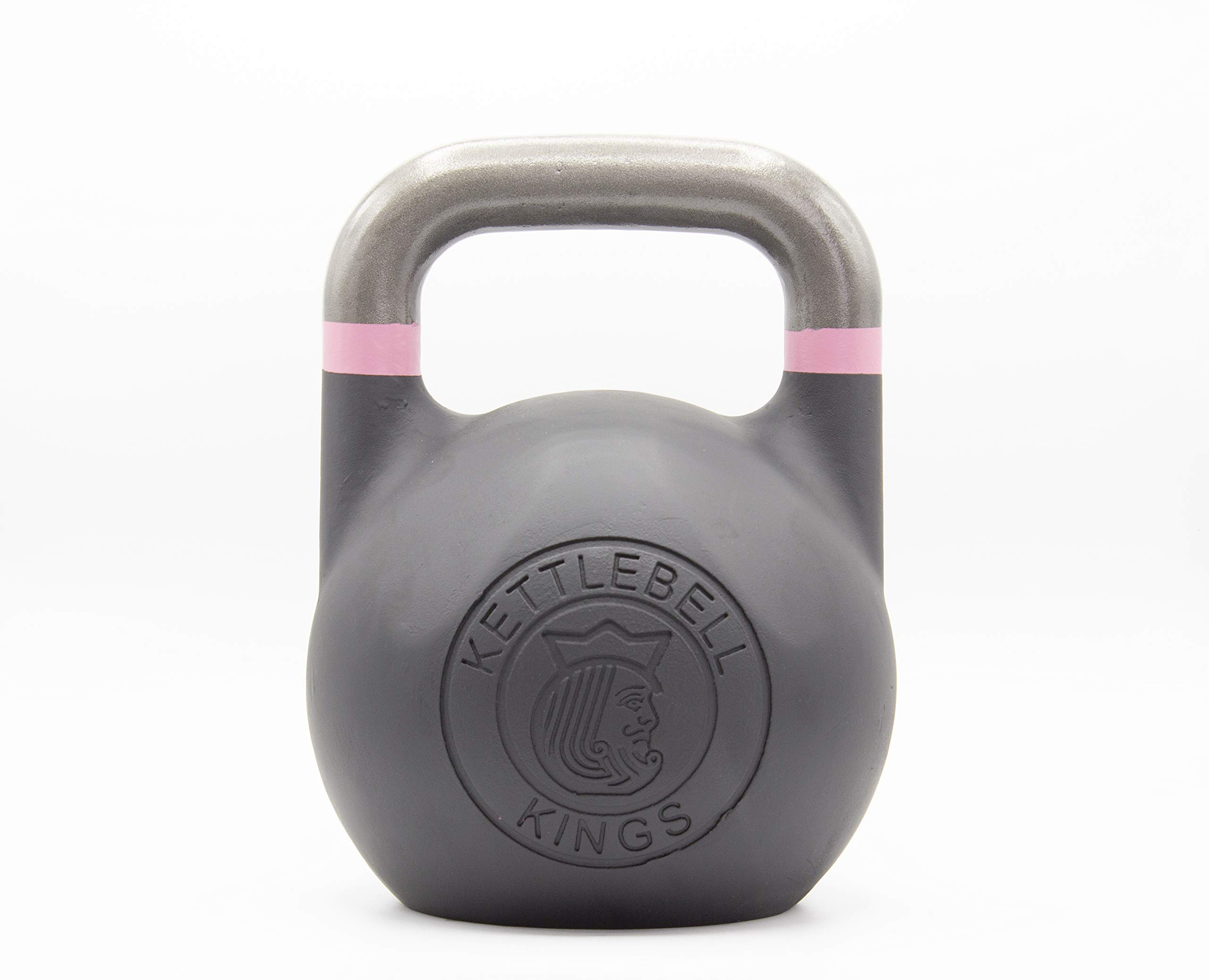 Kettlebell Kings | Kettlebell Weights | Competition Kettlebell Weight Sets for Women & Men | Built in American Style | Same Size & Dimension Across All Weights (20)