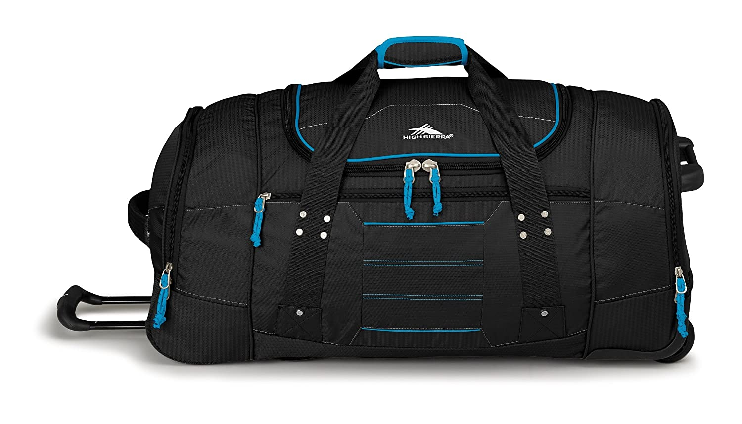 70669808c2 Amazon.com  High Sierra Ultimate Access 2.0 Drop-Bottom Wheeled Duffel   Sports   Outdoors