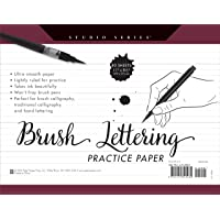 Studio Series Brush Lettering Practice Paper (Pad)