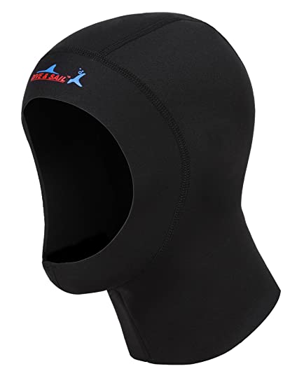 super popular b0f9c a75d6 Neoprene Dive Hood , DIVE   SAIL Upgraded EUR Version Water Neoprene  Wetsuits Hood for Men