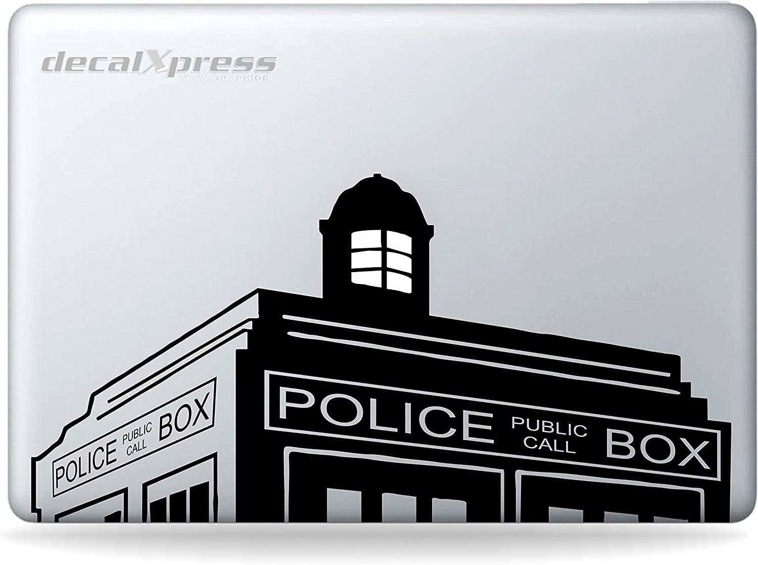 Dr Who Tardis Police Box Sticker Decal MacBook, Air, Pro All Modelss,Decal